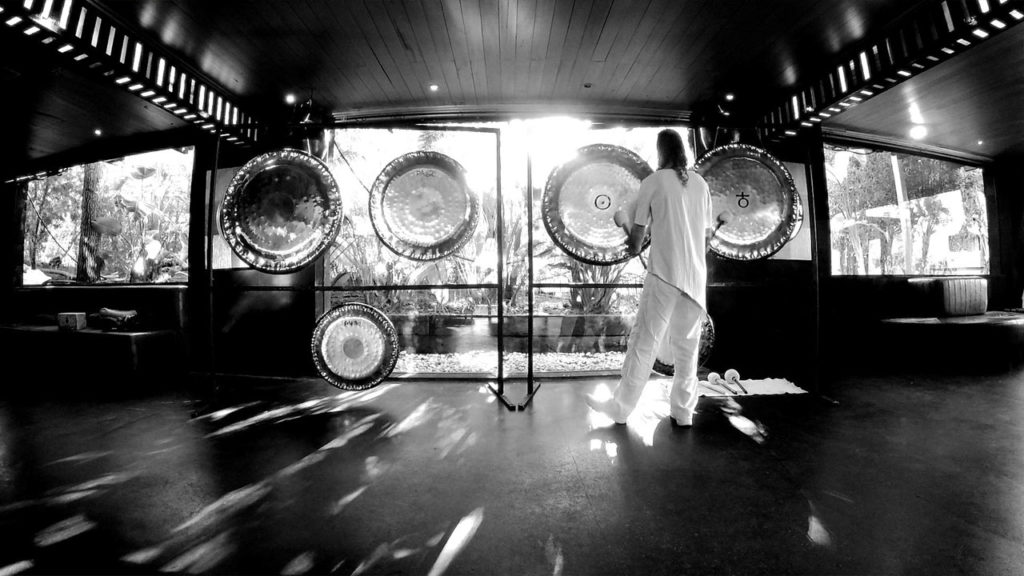 Gong Master at Atzaró Hotel Ibiza